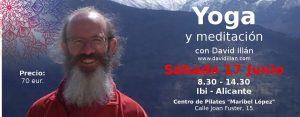 Taller introducción al Yoga 17 junio Ibi