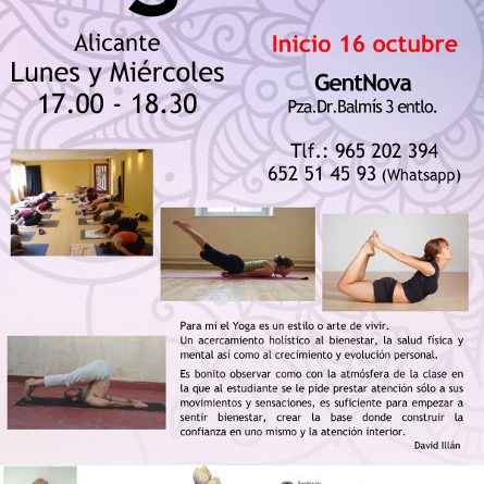 Yoga en Alicante – #YogaconDavid
