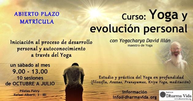 Curso Yoga y evolución personal2