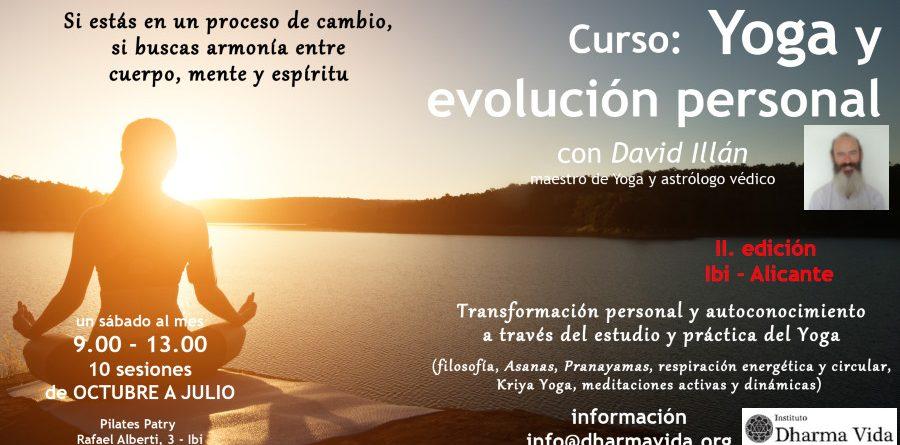Curso: «Yoga y evolución personal» II ed. Ibi