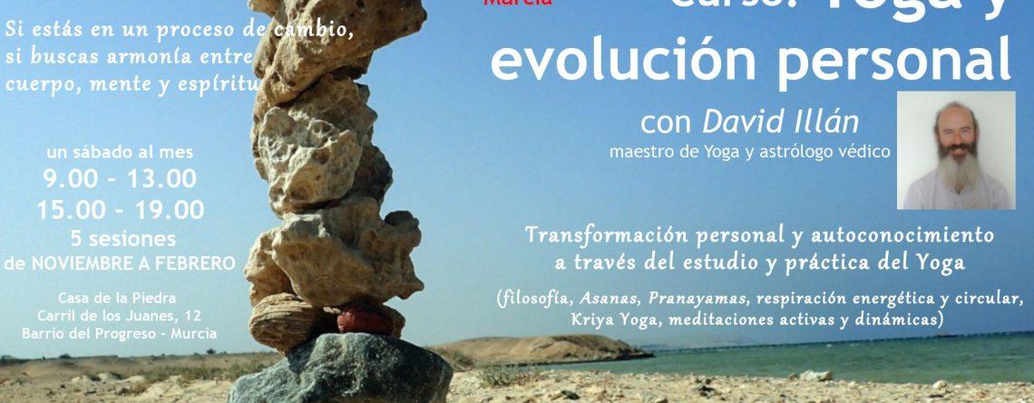 Curso: «Yoga y evolución personal» I ed. Murcia