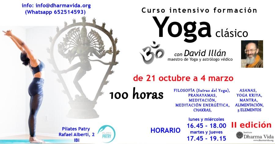 curso formación yoga clásico 100h 2ed.